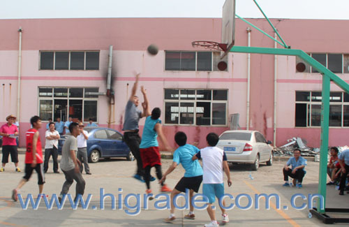 Basketball Game in 2014 Sports Meeting