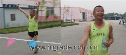 CEO Mr. Lin in 2014 Higrade Sports Meeting