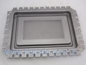 microwave oven door panel